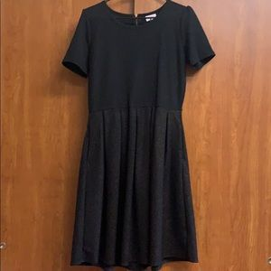 Lularoe Amelia glitter dress